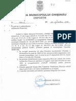 """Dispoziția nr. 1060-d din 23 septembrie 2016 """"Cu privire la redistribuirea mijloacelor financiare"""""""