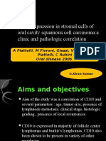 CD10 Expression in Stromal Cells of Oral Cavity