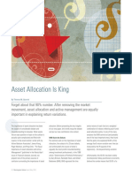 Asset Allocation is King