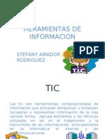 HERAMIENTAS DE INFORMACION