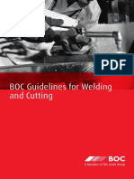 Guidelines for Gas Welding and Cutting