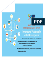 BRENNAN_Session 7_Innovative Practices in Skills Development for SMEs-A Canadian Innovation_13Sept