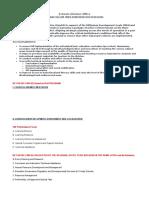Cid Office Accountabilities