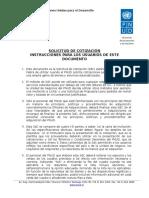 Solicitud de Cotización (RFQ)