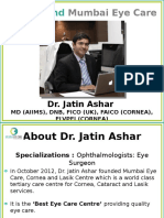Dr. Jatin Ashar, An Ophthalmologist (Eye Surgeon) in Ghatkopar, Mumbai