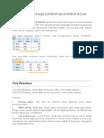 EXCEL Cara Menggunakan Fungsi VLOOKUP Dan HLOOKUP Di Excel