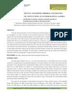 ESTIMATION OF THE ECTO- AND ENDOMYCORRHIZAL COLONISATION OF THE BLACK POPLAR - POPULUS NIGRA- OF AIT ZIKKI (KABYLIA, ALGERIA)