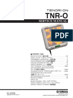 Yamaha Tenori-on Service Manual TNR-C