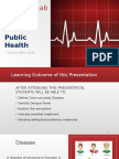 Communicable Disease Presentation