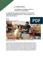 2016 07 28 Juan Cruz - Los Libros No Tienen Prisa