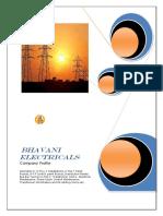 Profile Bhavani Electricals-1