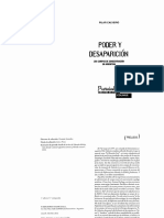 Calveiro Pilar- Poder y Desaparicion