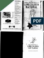 Manual Introductorio a La Ginecologia Natural