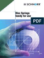 Disc Springs- Schnorr Handbook (2008)