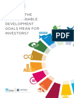 What Do the Un Sustainable Development Goals Mean for Investors