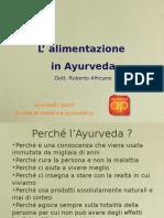 Ayurveda E Alimentazione - Presentazione Scuola Di Medicina 48Pg