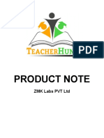 ZMK Labs Product Note