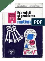 Exercitii Si Probleme de Matematica Pentru Clasele v-IX - Grigore Gheba & Lucretia Gheba & Carmina Gheba