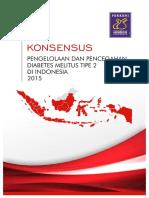 NEW - Konsensus Pengelolaan & Pencegahan DM tipe 2 di INDONESIA - edisi 2015