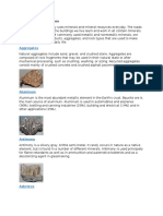 Minerals and Their Uses.doc