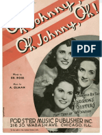 The Andrews Sisters - Oh Johnny Oh