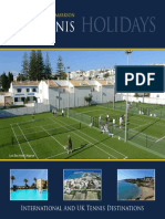 Jonathan Markson Tennis Holiday Brochure