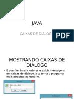 JAVA-caixas de Dialogo (1)