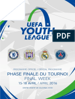 Uefa Youth League Final Round 2015