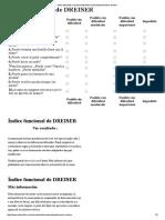 Indice Funcional de Dreiser