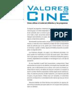 Valores de Cine 4 Material Didactico