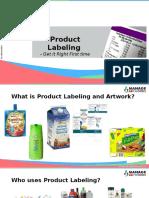 Labeling   Artwork Management   Packaging