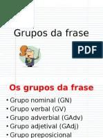 Grupos Da Frase