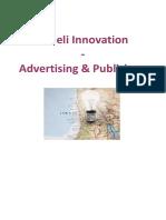 Israeli Innovation Advertising and Publishers