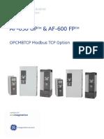 AF600-FP Modbus TCP Option