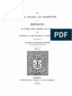 1843 Weale the Theory Bridges Texto v 1