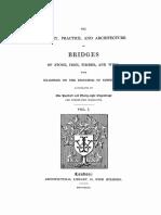 1843 Weale the Theory Bridges Texto v 1