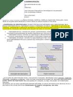 Caderno - Funções Básicas da Administração