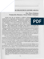La Muerte Del Coronel Francisco Javier Arana Castro - Piero Gleijeses 1994