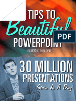 7 Tips to Beautiful Powerpoint