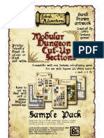 Modular Dungeon Sections Sample Pack by Billiambabble