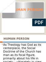 The Human Person