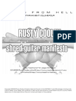 295286630 181032321 Shred Guitar Manifesto Rusty Cooley PDF