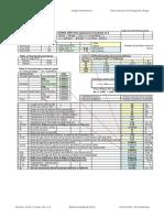 Hoja de Cálculo en Esquematico Presurizacion Notas y Detalles
