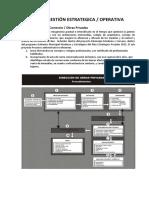 Agenda Gestión Estrategica Operativa