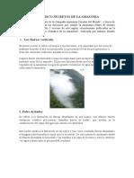 Los Cinco Secretos de La Amazonia