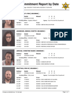 Peoria County Jail Booking Sheet for Sept. 25, 2016