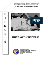 Studying the Universe Module
