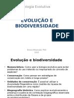 Evolucao e Biodiversidade I 2015