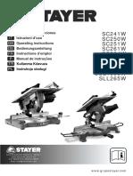 Tischkreissäge Stayer sc251