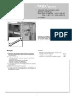 Manual de Montagem Freigabe FKA-TI FKA-TA FKA-A